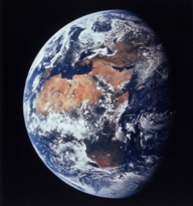 """The Earth is One ~ The World Not Yet"" photo from NASA"