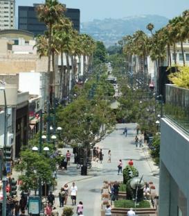Santa Monica Third Street Prominade