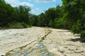 The Rio Blanco river in Texas during the drought of 2011. Photo by Earl McGehee/Flickr/cc