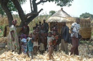A family in Burkina Faso. Photo courtesy of the Global Environment Facility (GEF).