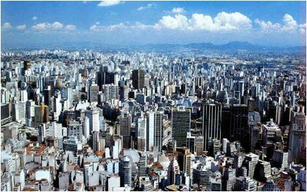 We turned the natural world into 36 million-packed human mega-cities that create enormous pollution and loss of connection with the Natural World. Photo by www.urbanscape.blogspot.com