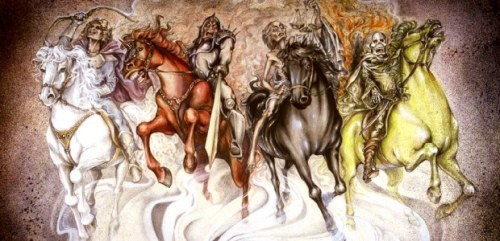 Sadly, the drift toward apocalypse is propelled by four horsemen: ignorance, denial, faith, and greed.